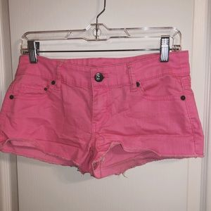 Pants - Hot pink shorts